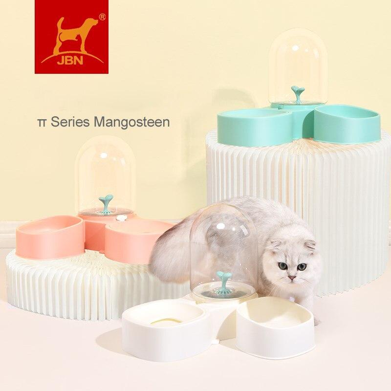 Cão de estimação gato tigela fonte automática água alimentador de alimentos dispensador recipiente para gatos cães bebendo comer suprimentos para animais de estimação venda quente