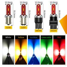 CSP LED p21w led auto ba15s led auto 12V 24V 1156 p21/5w 1157 bay15d t20 7443 w21/5w 7440 w21w py21w led lampe für auto bau15s DRL