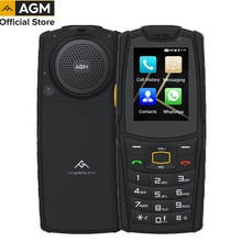 Russia Keypad Rugged Phone AGM M7 4G Volte Android Feature Phone Waterproof  Touch Screen Mobile Pho