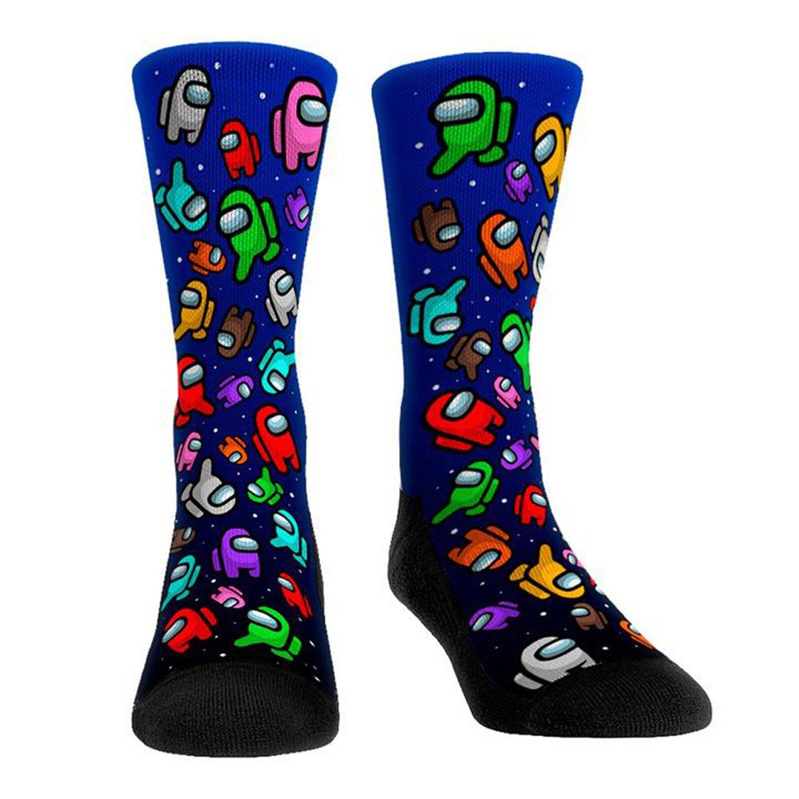 Neuheit Spiel Unter Uns Socken Männer Frauen Носки Atmungs Gemütliche Harajuku Calcetines Baumwolle High-Socken Y2k Junge Personalisierte Warme EIN