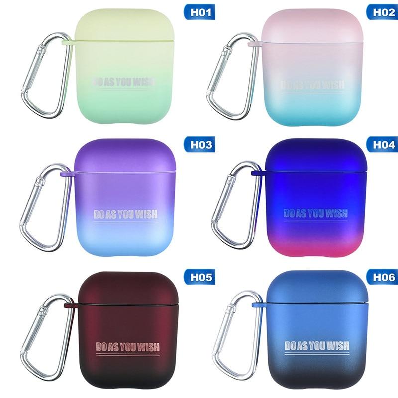 Ins rampa colores protector duro caso cubra la piel para mucho los AirPods de Apple