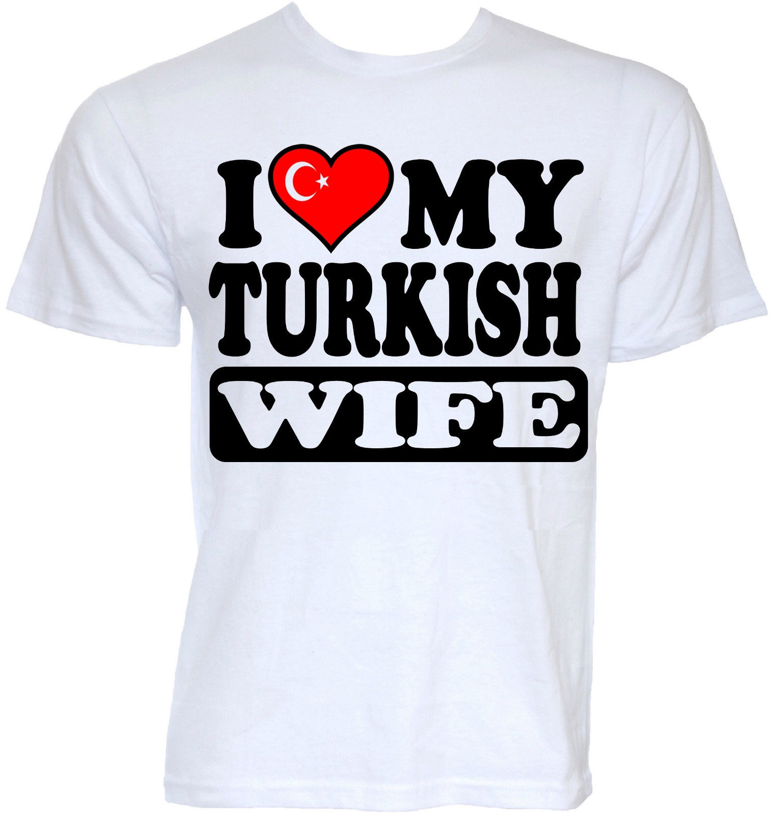 Camisetas de moda para hombre, divertidas, geniales, novedosas, turcas, esposa, pavo, bandera, broma, grosero, eslogan, regalos, camisetas de verano, 100% recta, algodón