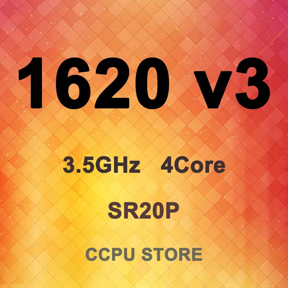 Intel xeon E5-1620 v3 sr20p 3.5ghz 4 núcleo 8thread 10mb 140w processador cpu LGA2011-3 x99 não qs/es