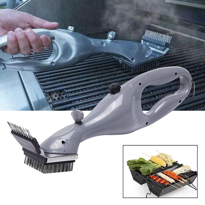 Daddy-cepillo de limpieza a vapor para parrilla de barbacoa, limpiador de carbón...