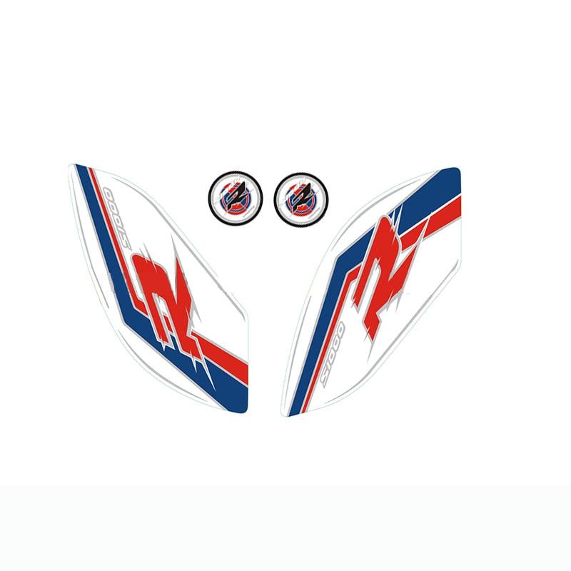 Für BMW S1000R S1000RR 2010-2015 Motorrad Anti slip Tank Pad 3D Seite Gas Knie Grip Traktion Pads Protector aufkleber