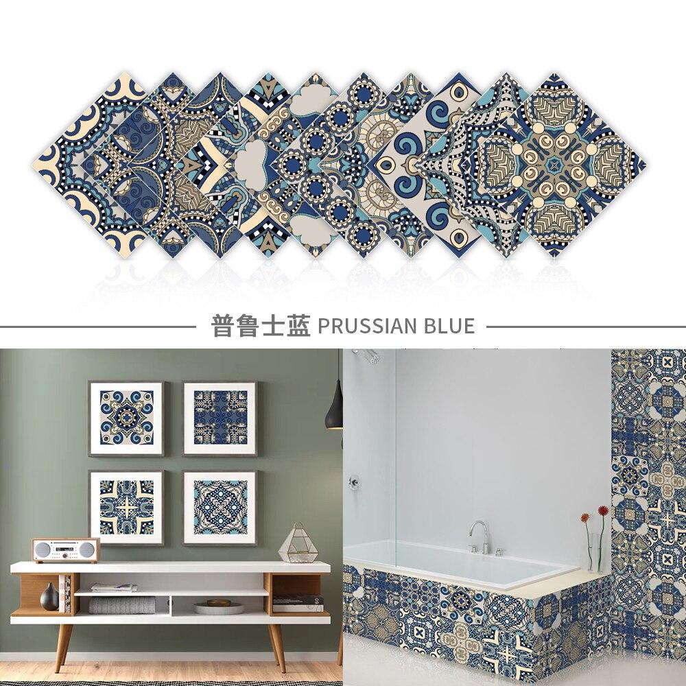 Самоклеящиеся 3D-наклейки на стену с кристаллами, настенные фрески для кухни, фотообои, водонепроницаемые Стикеры для украшения гостиной, ванной комнаты