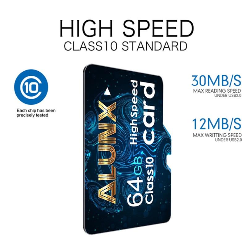 Micro SD 8 16 32 64 128 256 GB SD Card Class 10 TF Flash Card Memory Card 256GB 128GB 64GB 32GB 16GB 8GB For Smartphone Adapter