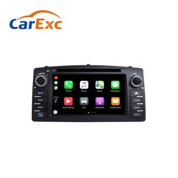 Autoradio intégré GPS   Android 9.0, Navigation, Compatible avec Toyota Corolla E120 BYD F3 2000 2005 2006 multimédia