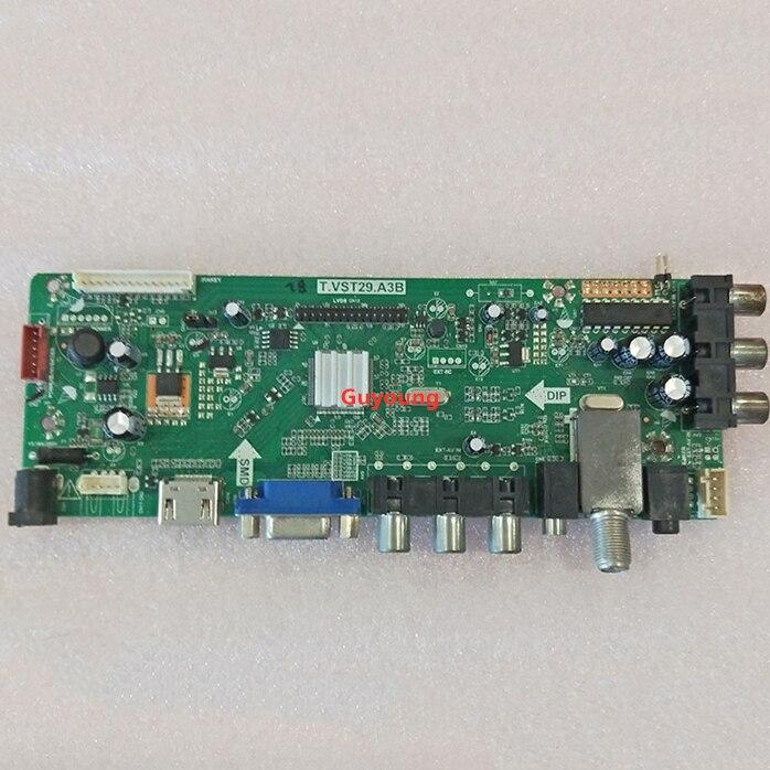 Placa base de TV universal LED T. VST29.A3B de 21,5 pulgadas a 42 pulgadas