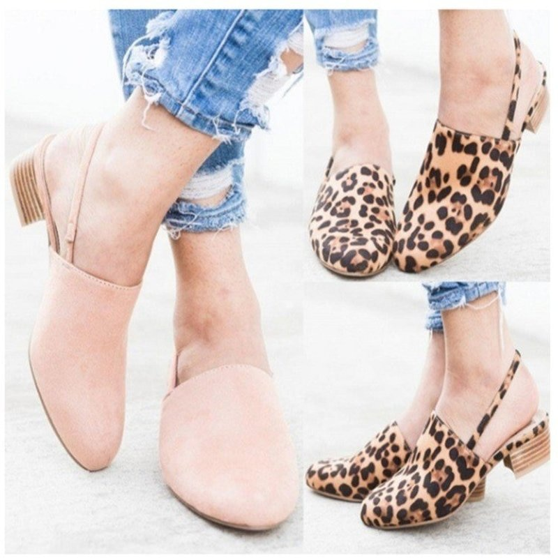 Spring/autumn Women Sandals Newest Fashion Low Heels Casual Sandals Concise Shoes for Ladies Zapatos