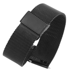 Quick Release Watch Strap Milanese Folding Clasp Stainless Steel Watch Band Replacement Strap 12mm 14mm16mm 18mm 20mm 22mm