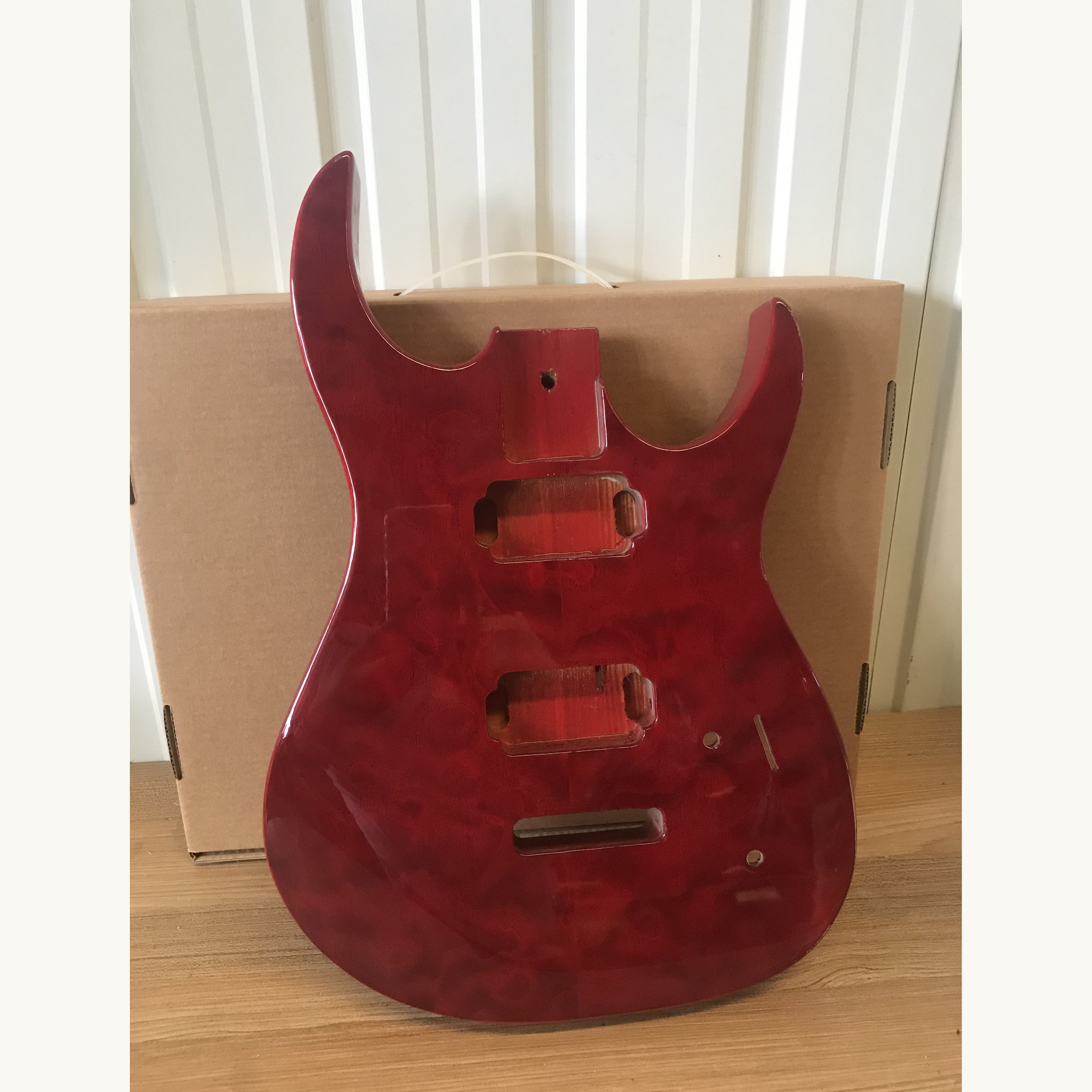 Free Ship Electric Guitar Body Finished Best DIY Jazzmaster Style Sonic Alder ST Guitar Panel Handmade Electric Guitar Barrel enlarge