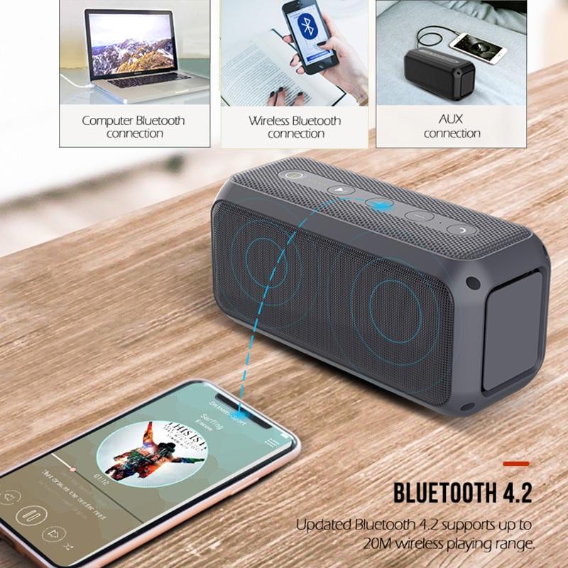 Portable Bluetooth Speaker Outdoor Wireless Column Bass Subwoofer Music Center BoomBox 3D Stereo AUX USB 4000mAh Battery Altavoz enlarge