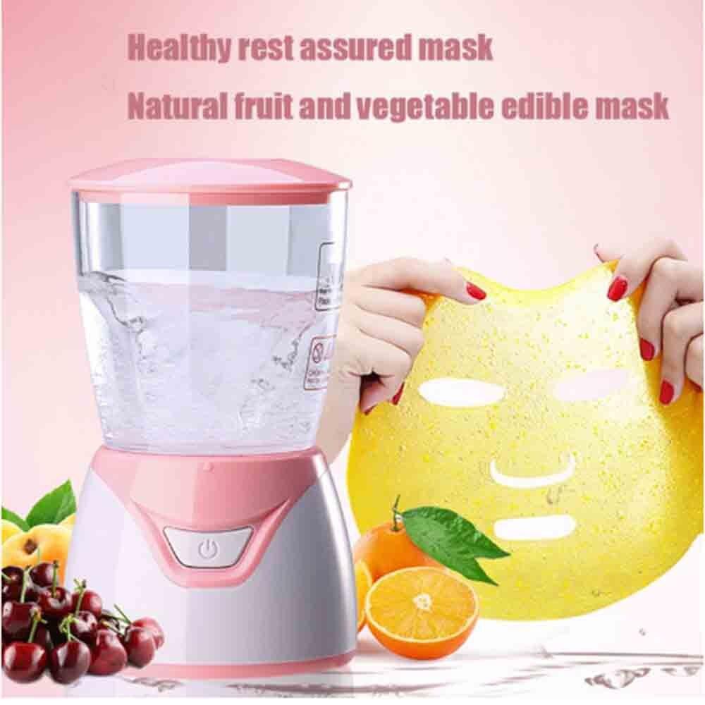 Máquina de mascarilla facial de colágeno Natural, mascarilla facial de frutas, máquina automática de mascarillas vegetales para salón de belleza SPA