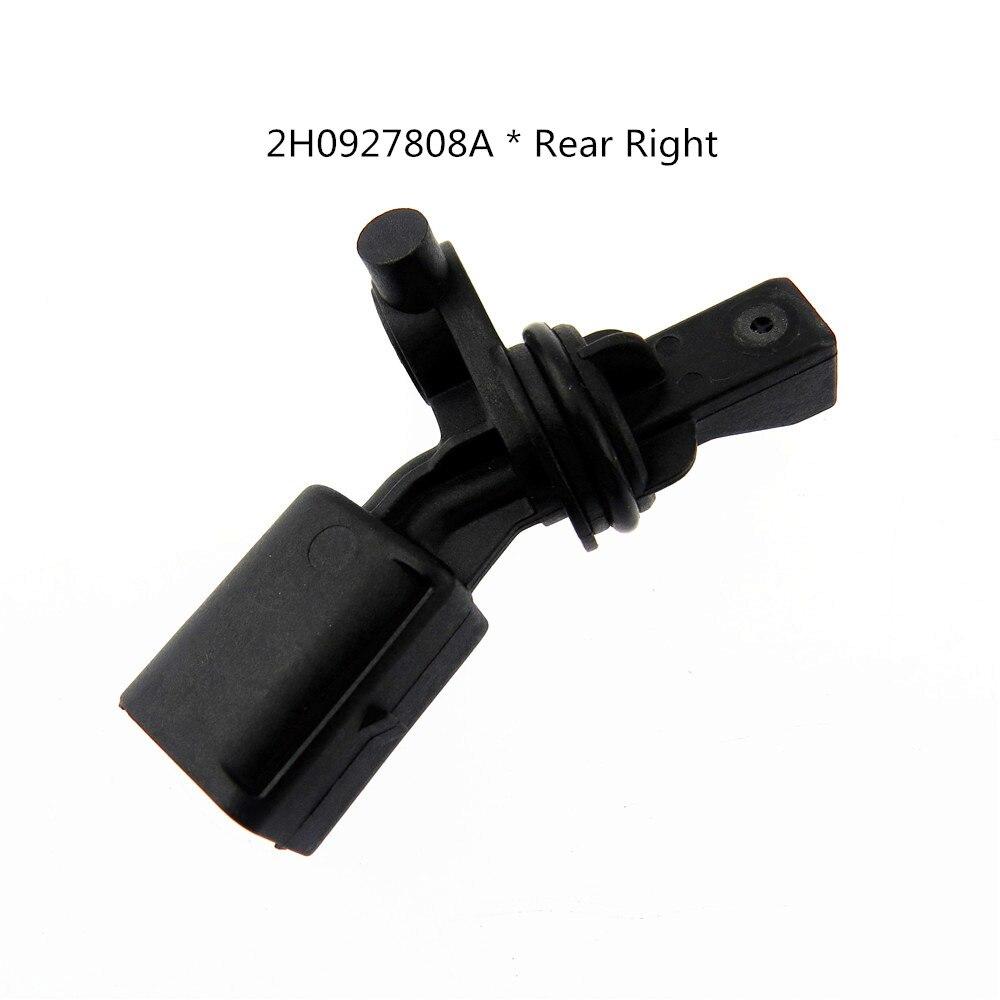 HONGGE Rear Right ABS Wheel Speed Sensor 2H0927808A for A3 TT Amarok Passat 2H0 927 808A 2H0 927 808 A