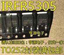10pieces IRFR5305  FR5305  IRFR5305TRPBF  TO-252