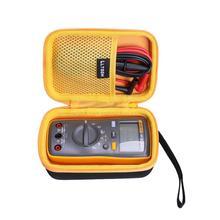 LTGEM Waterproof EVA Hard Case for Fluke 107 AC/DC Current Hardheld Digital Multimeter,Gray