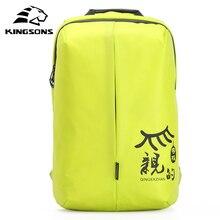 Kingsons femmes sacs à dos Fit 15.6 ordinateur portable grande capacité sac décole décontracté voyage affaires sac à dos Mochila