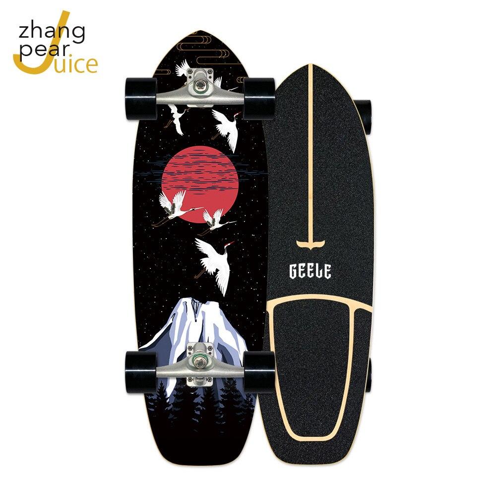 Скейтборд для серфинга, скейтборд из канадского клена, качественный прогулочный скейтборд, скейтборд для начинающих и взрослых