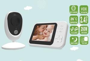 3.2 Inch 260M Long Range Wireless Two Way Intercom Kids Camera IR Night Vision Baby Monitor