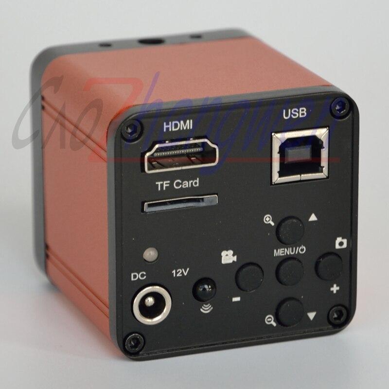 FYSCOPE 16MP 1080P 60FPS HDMI Caméra de Microscope Numérique USB FHD Industriel de Laboratoire c-mount Microscope Carte TF Caméra Vidéo Numérique