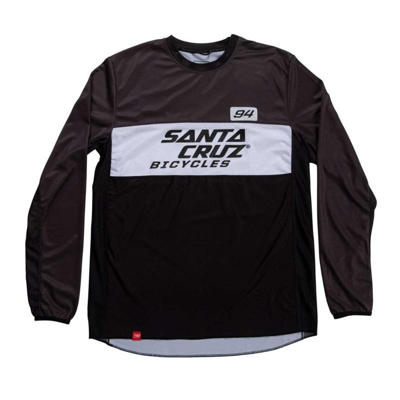 Santa Cruz Racing Downhill Jersey Mountain Bike Motorcycle Cycling Jersey Crossmax Ciclismo Clothes for Men MTB MX Moto Jersey