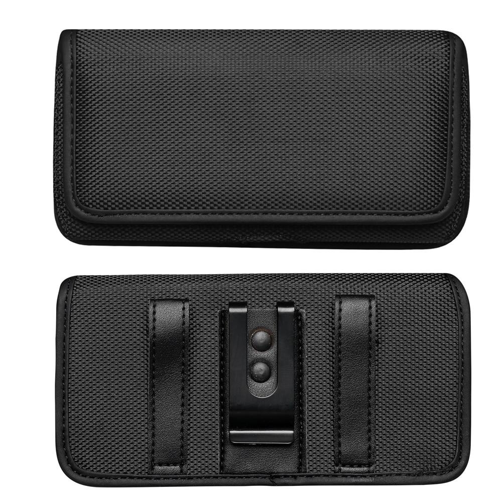 Telefoon Bag Pouch Voor Samsung Galaxy M11 Riem Clip Holster Oxfor Doek Cover Voor Samsung Galaxy Note 10 Lite/a81 M60S Heuptas