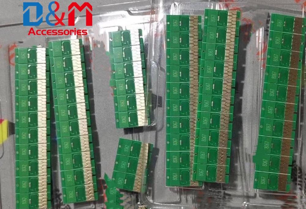 Chips de reinicio de cartucho para Epson Stylus Pro 7710, 9710, 7908, 9908, 7910, 9910 P6080 P7080 P8080 P9080 7900, 9900, 7700, 7890, 9890, 9700