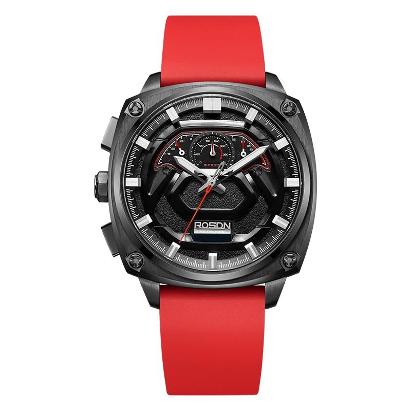 TT 2021 new top ten brand watch men's sports trend men's multifunctional quartz watch