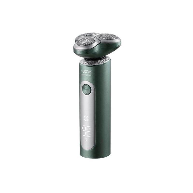 شاومي Soocas ماكينة حلاقة كهربائية S5 الأخضر الداكن المقص الحلاقة المتقلب IPX7 مقاوم للماء قابل للغسل قابلة للشحن