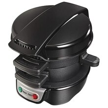 Frühstück Sandwich Maker Startseite Toaster Multifunktions Frühstück Maschine Burger Maschine EU Stecker