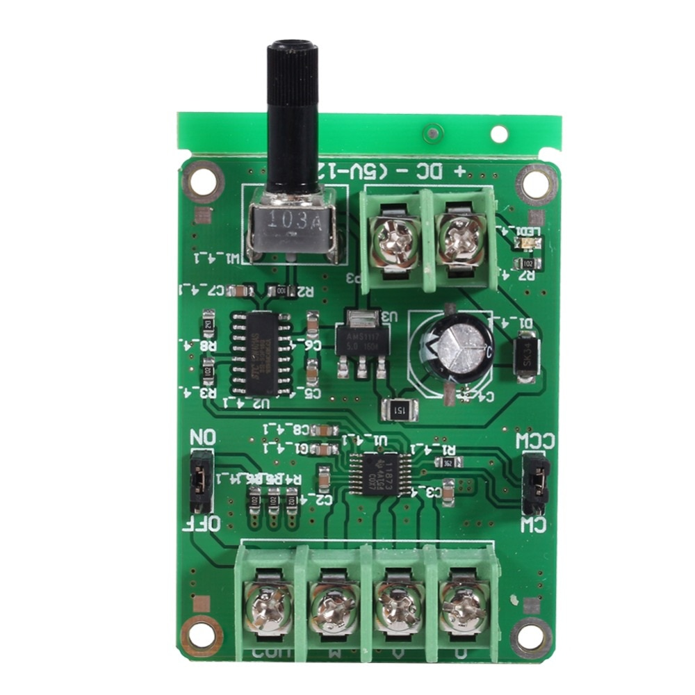 9V-12V DC Brushless Motor Driver Board Controller for Hard Disk Drive for Hard Disk Drive PCB Integrated Circuits 3/4 wire mot