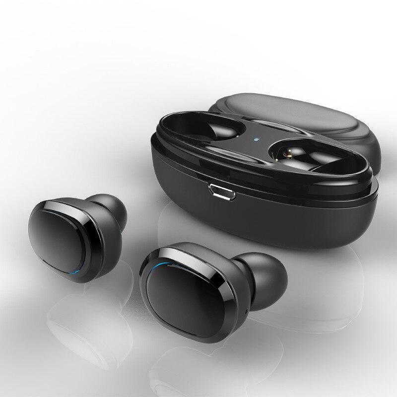 T12 auriculares de doble oído TWS de alta calidad Mini estéreo Bluetooth 5,0 auriculares inalámbricos auriculares deportivos con estuche de carga