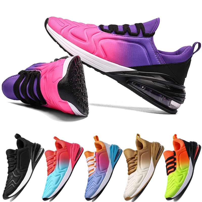 2020 New Fashion Brand Vulcanized Shoes for Women Mesh Sneakers Air Cushion Gym Sport Trainers Shoes