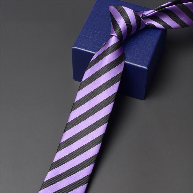 2020 Brand New High Quality Fashion Striped Tie for Men Business Formal Suit Party Neck Tie 6CM Slim Necktie