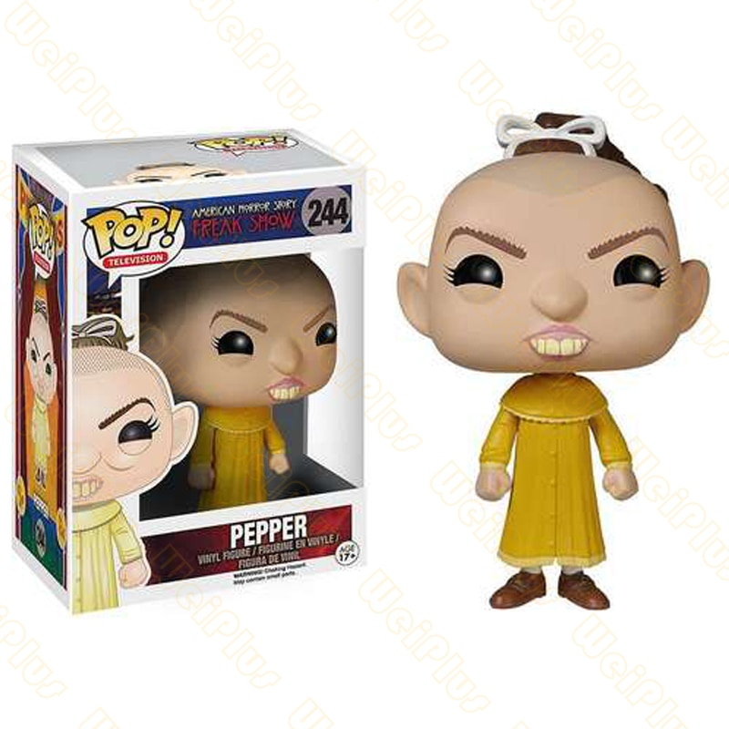 Funko POP Pepper #244 Vinyl Figure Dolls Action & Toy Figures Collectible Model Toy for Children