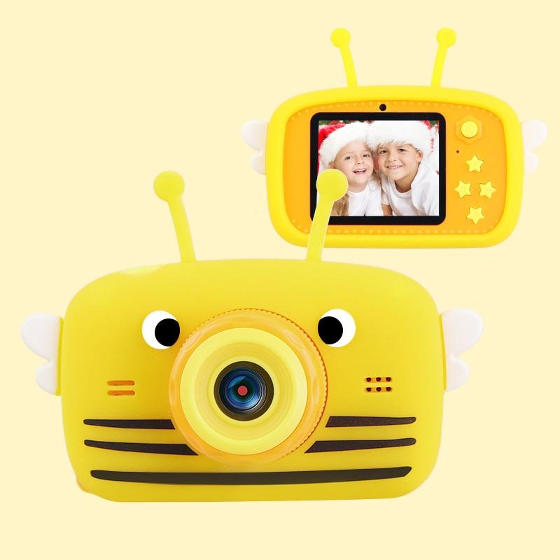 Детская фотокамера Full HD, видеокамера для цифровой съемки, 1080P, экран 2 дюйма, для игры и учебы нечитаева н детская комната для игры отдыха и учебы