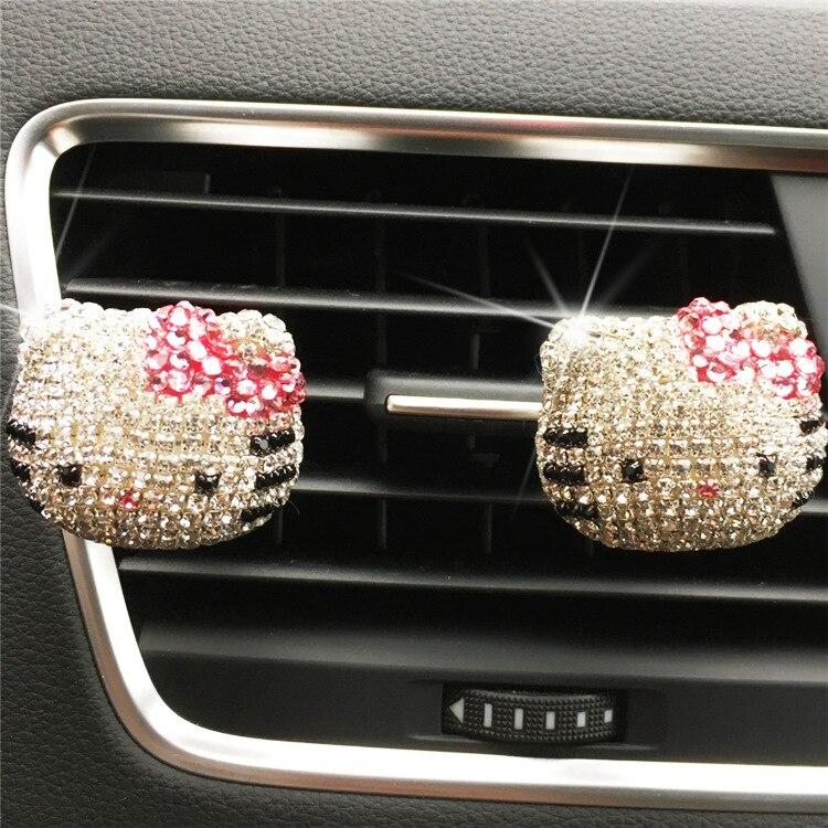 Nuevo diseño de perfume para coche de señora, precioso perfume de gato Hello TK KT Perfumes 100 Original para mujer