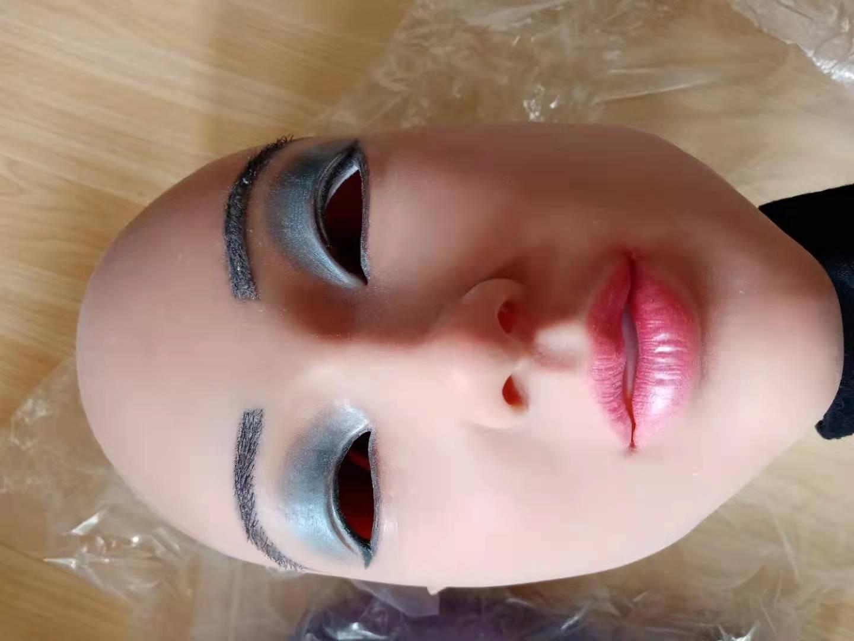 Kristen Face Mask Realistic Soft Silicone Female Mask for Masquerade Halloween Mask For Crossdresser Drag Queen Transgender 3G