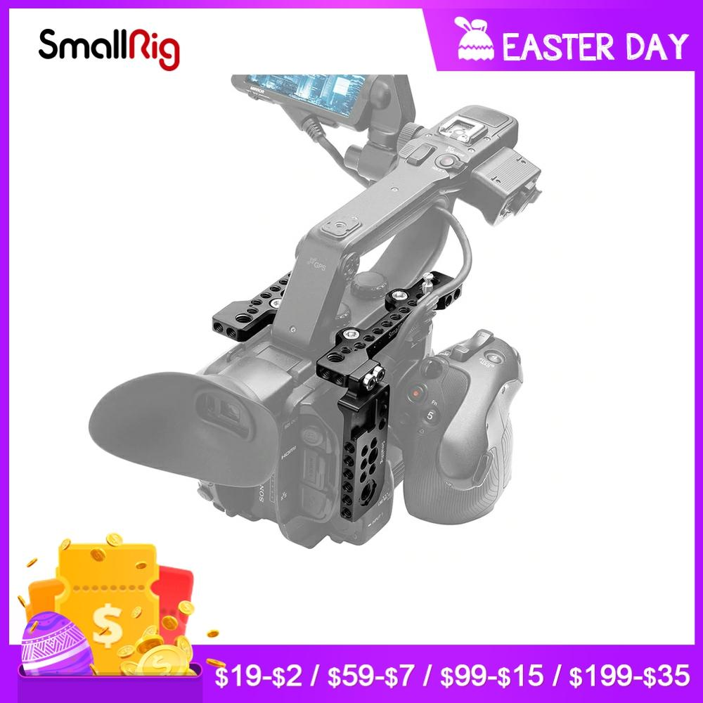 SmallRig-Placa de videocámara DSLR, Kit para Sony PXW-FS5 con soporte para zapata...
