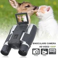 2 lcd digital binoculars with camera 1080p 12x zoom long range recording video photo for bird watching hunting