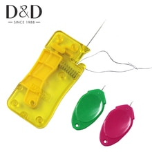 3Pcs Automatic Needle Threader Plastic Wire Stitch Insert Craft Tool Hand Sewing Machine Threader DIY Sewing Accessories