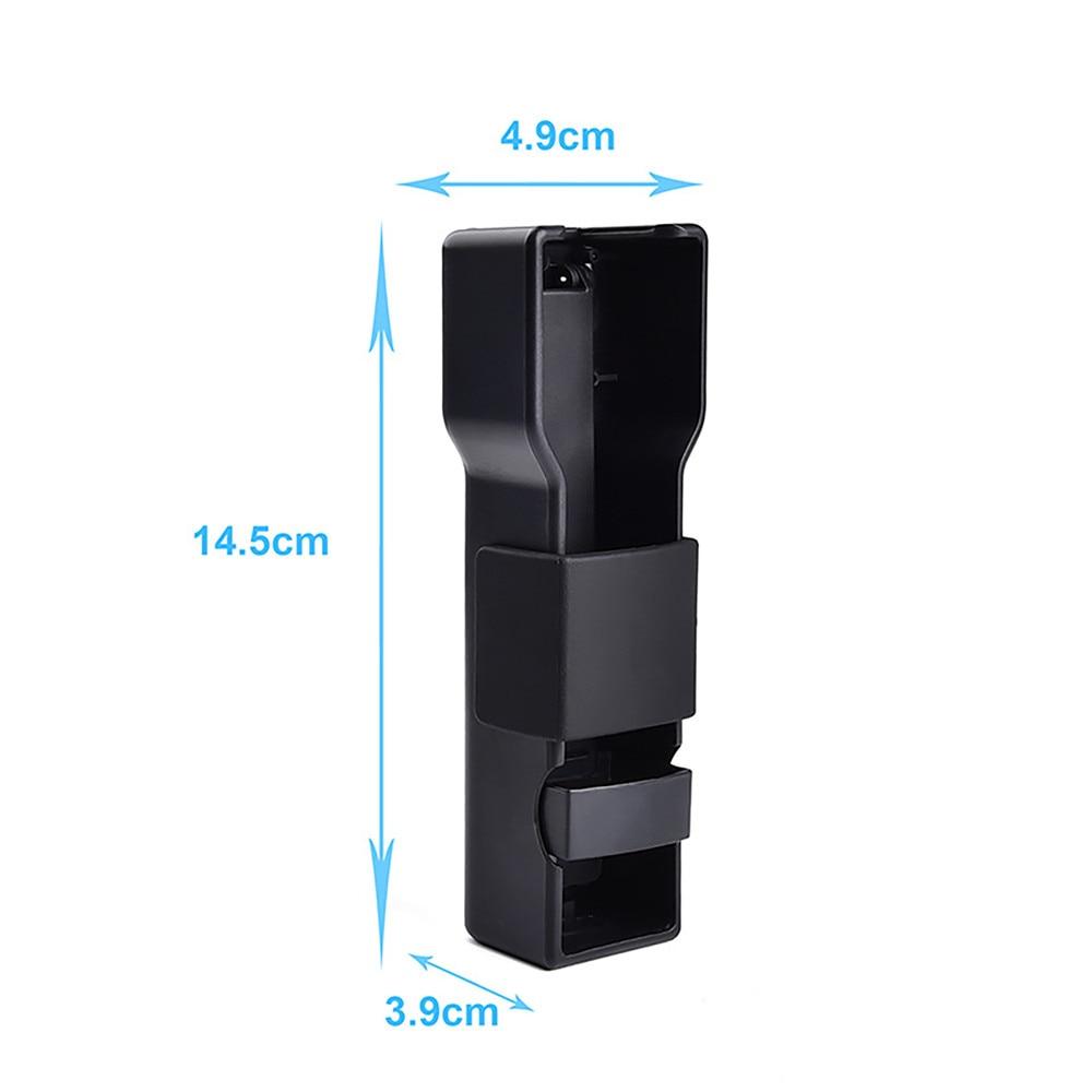 For DJl Pocket 2 Anti-shake Handheld Z-Axis Stabilizer Foldable Carrying Case Phones Holder Clip For DJl Pocket 2 Accessories