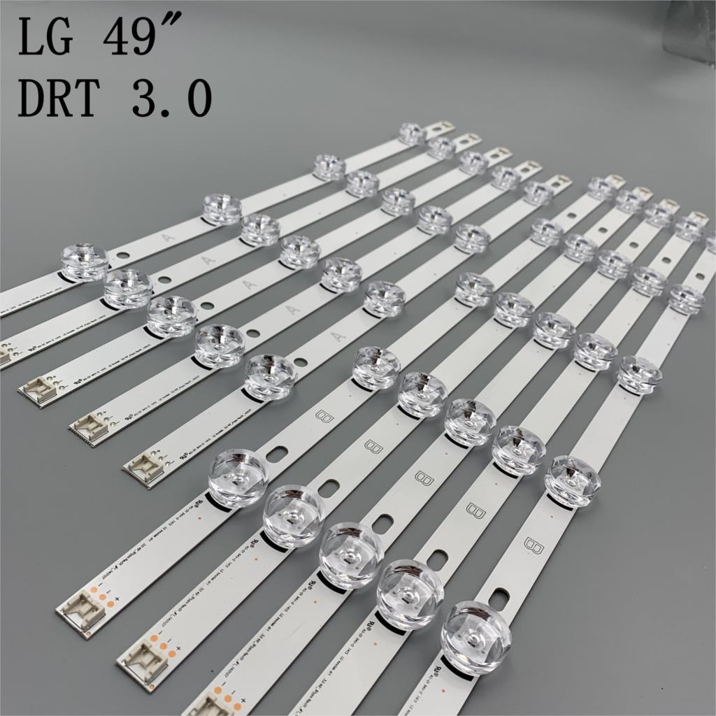 striscia-led-10-pezzi-per-lg-innotek-drt-30-49-a-b-49lb5500-49lb550v-49lb5550-6916l-1944a-6916l-1945a-6916l-1788a-6916l-1789a