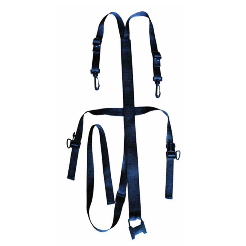 Mochila correa de pecho bolsa de saco ajustable cinta antideslizante correas esternón hebilla Clip Correa pecho bolsa de deportes Accesorios