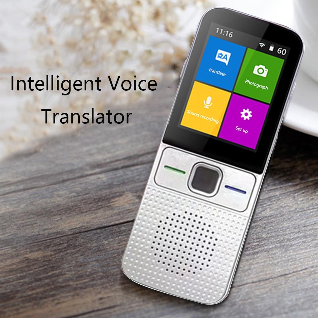 آلة ترجمة الأعمال مترجم لغات 137 في اتجاهين في الوقت الحقيقي واي فاي/تسجيل غير متصل/صور محمول مترجم