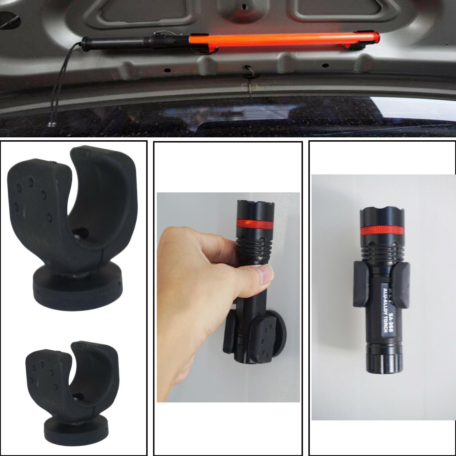 Suporte magnético da tocha da lanterna elétrica dos suportes da base 2/pk do veículo montagens para maglite