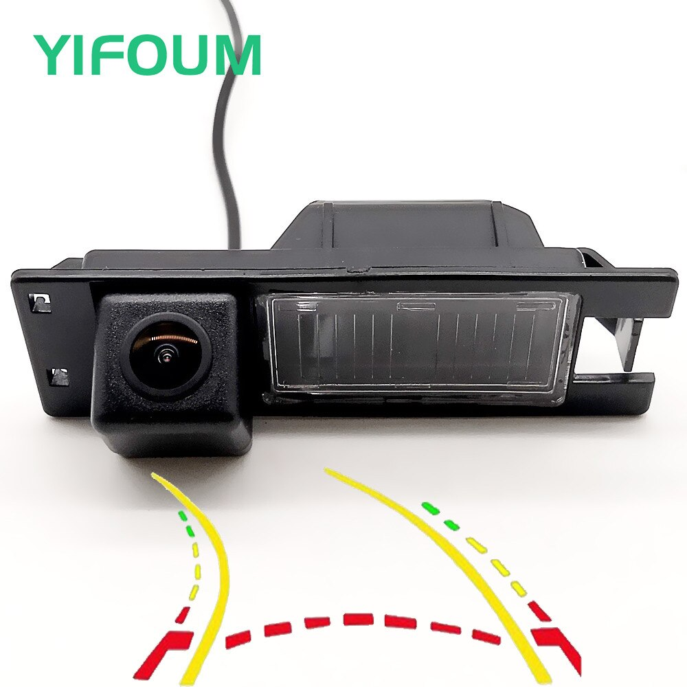 YIFOUM trayectoria dinámica pistas vista trasera de coche cámara para Chevrolet Volt Opel Meriva/Fiat Panorama Doblo clásico de 263