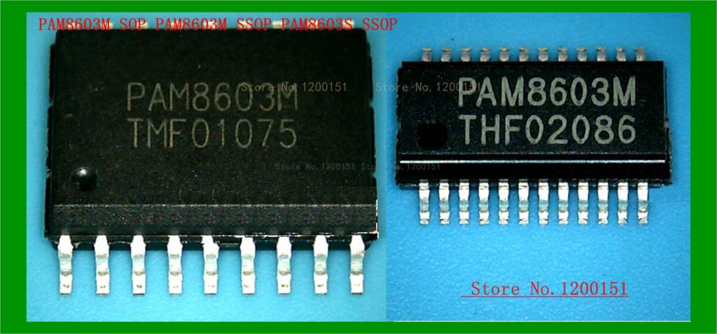 PAM8603 PAM8603M SOP PAM8603M SSOP PAM8603E SSOP PAM8803S PAM8803 MD3303 SSOP