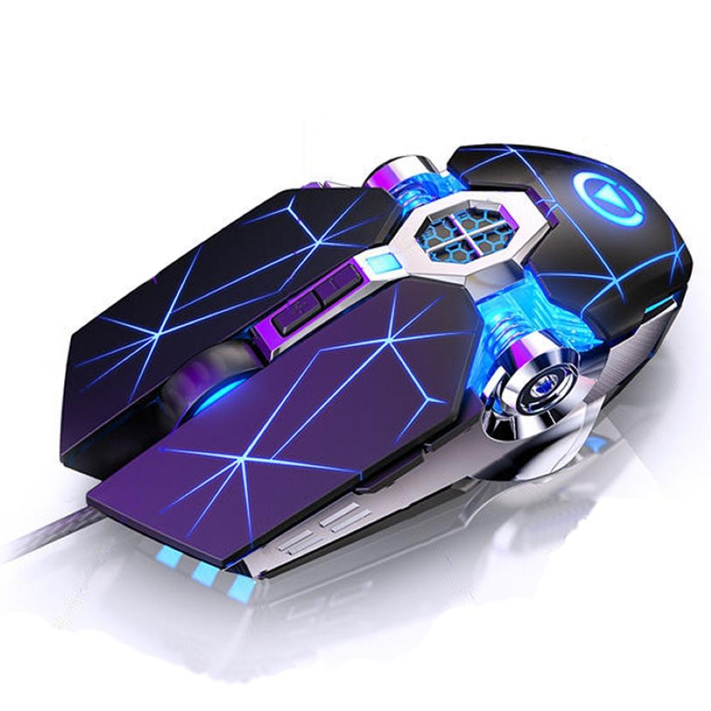 New Gamer Mice computer mouse Gaming Mouse 3200 DPI 6 Buttons LED Optical USB Wired Mouse For Gamer